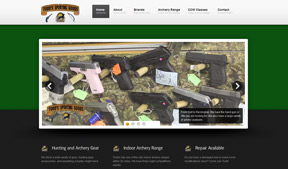 Todd's Sporting Goods needed a website to help their small business get a larger share of the market.